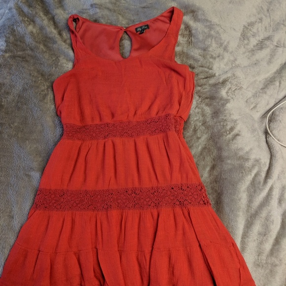 Lily Rose Dresses & Skirts - Lily Rose size medium coral red sundress